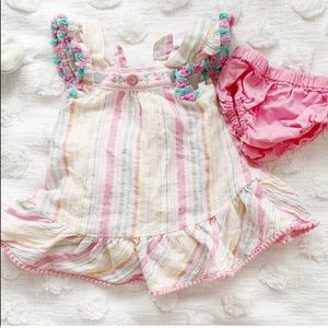 Nanette Baby Girl Tunic Summer Outfit
